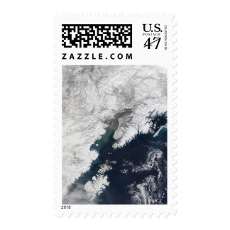 Ash plume from Mount Redoubt, Alaska Postage Stamp