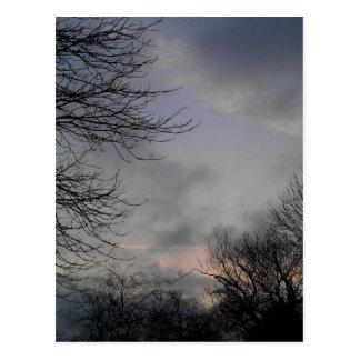 Ash sky postcard