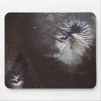 Ash stains on Russia's Shiveluch volcano�s sl Mouse Pad