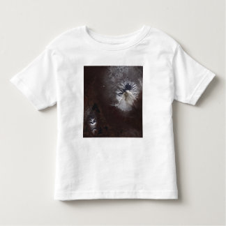 Ash stains on Russia's Shiveluch volcano�s sl Toddler T-shirt