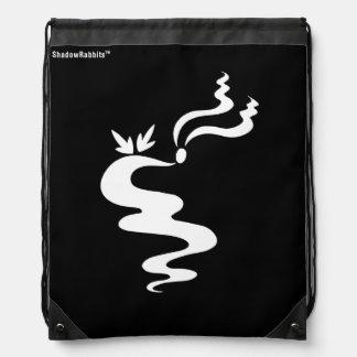 Ash the Shadow Rabbit Drawstring Bag