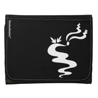 Ash the Shadow Rabbit Leather Wallet