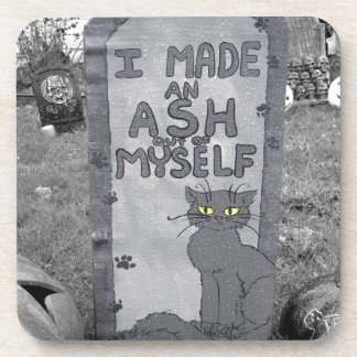 Ash Tombstone Coaster