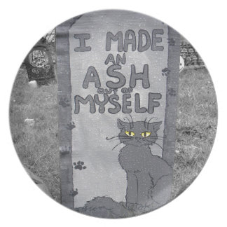 Ash Tombstone Dinner Plates