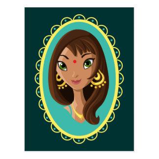Asha la belleza india postal