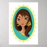 Asha la belleza india posters