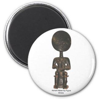 Ashanti Maternity Figure Magnet