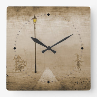 Ashberry Park Square Wall Clock