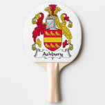 Ashbury Family Crest Ping Pong Paddle