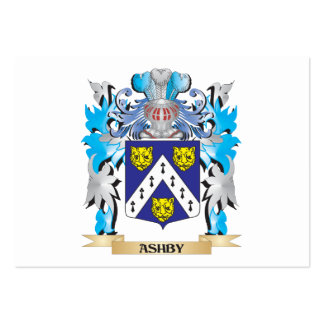 Ashby Coat Of Arms Large Business Cards (Pack Of 100)