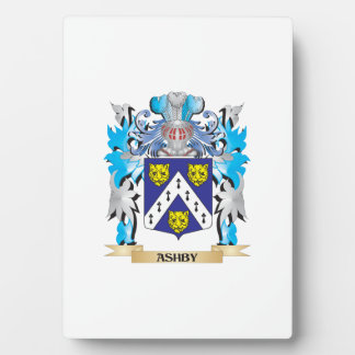 Ashby Coat Of Arms Photo Plaques