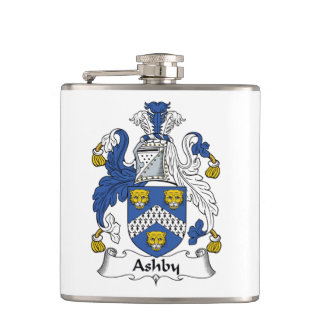 Ashby Family Crest Flask