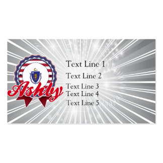 Ashby, MA Double-Sided Standard Business Cards (Pack Of 100)