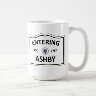 ASHBY MASSACHUSETTS Hometown Mass MA Townie Coffee Mug