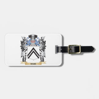 Ashe Coat of Arms - Family Crest Luggage Tag