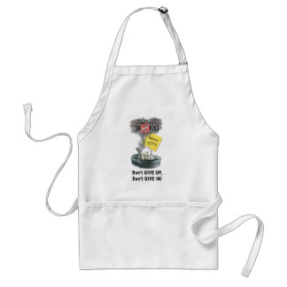 Ashed Out Adult Apron