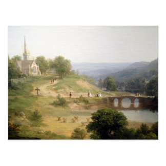 Asher Brown Durand Sunday Morning Postcard