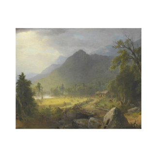 Asher Brown Durand - The First Harvest Canvas Print