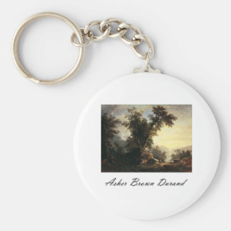 Asher Brown Durand The Indian s Vespers Key Chains