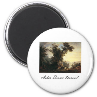 Asher Brown Durand The Indian s Vespers Refrigerator Magnet