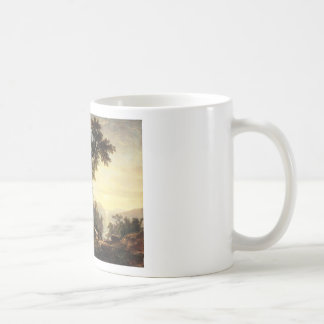 Asher Brown Durand The Indian's Vespers Coffee Mug