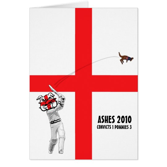 Ashes 2010 card