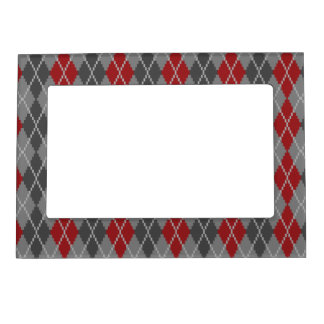 Ashes and Embers Argyle Magnetic Frame