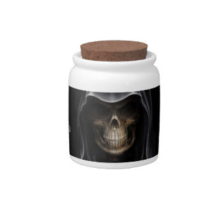 Ashes of difficult employees-Desk candy jar