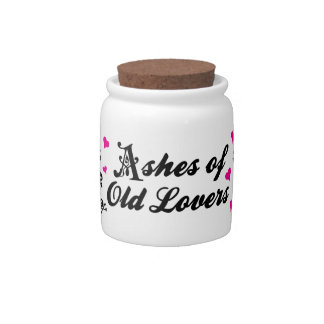 Ashes of Old Lovers Jar Candy Dishes