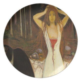 'Ashes Party Plate
