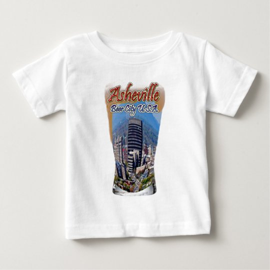 Asheville Beer City USA Baby T-Shirt
