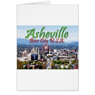 Asheville Beer City USA Card