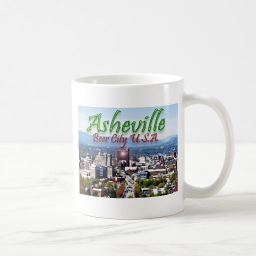 Asheville Beer City USA Classic White Coffee Mug