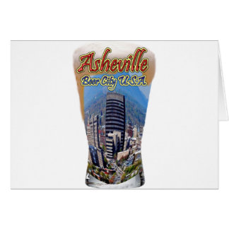 Asheville Beer City USA Greeting Card