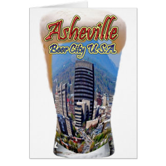 Asheville Beer City USA Greeting Cards