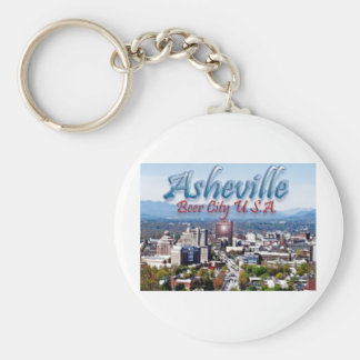 Asheville Beer City USA Keychain