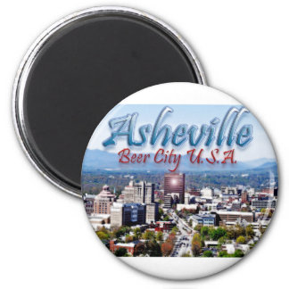 Asheville Beer City USA Magnet