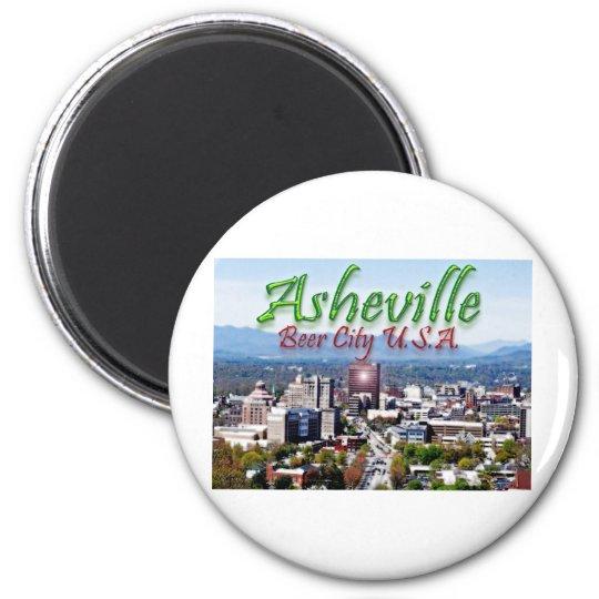 Asheville Beer City USA Magnet