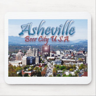 Asheville Beer City USA Mouse Pad