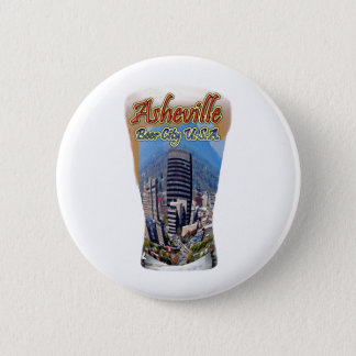 Asheville Beer City USA Pinback Button