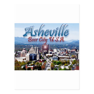 Asheville Beer City USA Post Cards