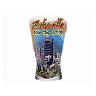 Asheville Beer City USA Postcard