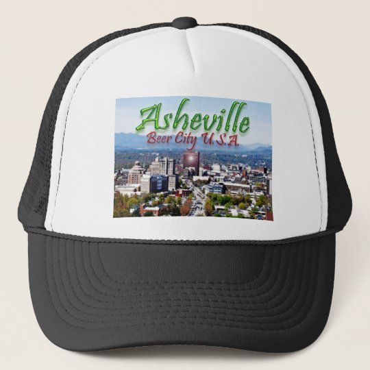 Asheville Beer City USA Trucker Hat