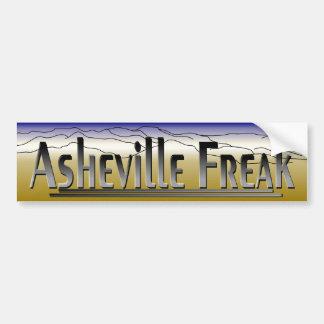 Asheville BS.1 anormal Pegatina De Parachoque