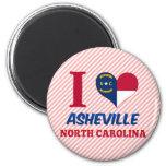 Asheville, Carolina del Norte Imán Para Frigorifico