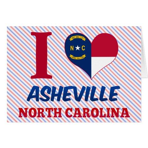 Asheville, Carolina del Norte Tarjeton