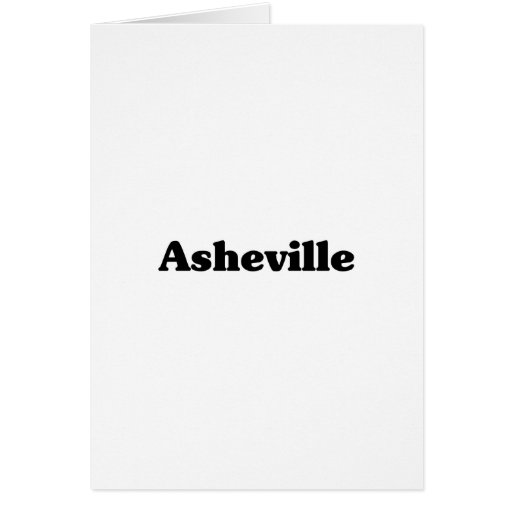 Asheville Classic t shirts Greeting Cards