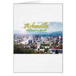 ¡Asheville… diferente es buena! Felicitación
