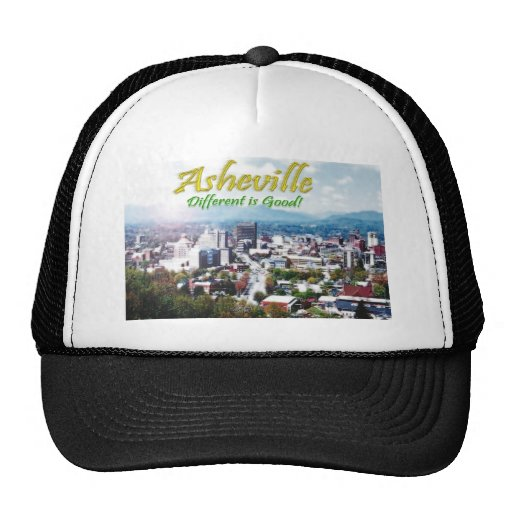 ¡Asheville… diferente es buena! Gorra