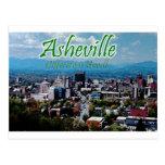 ¡Asheville… diferente es buena! Tarjeta Postal